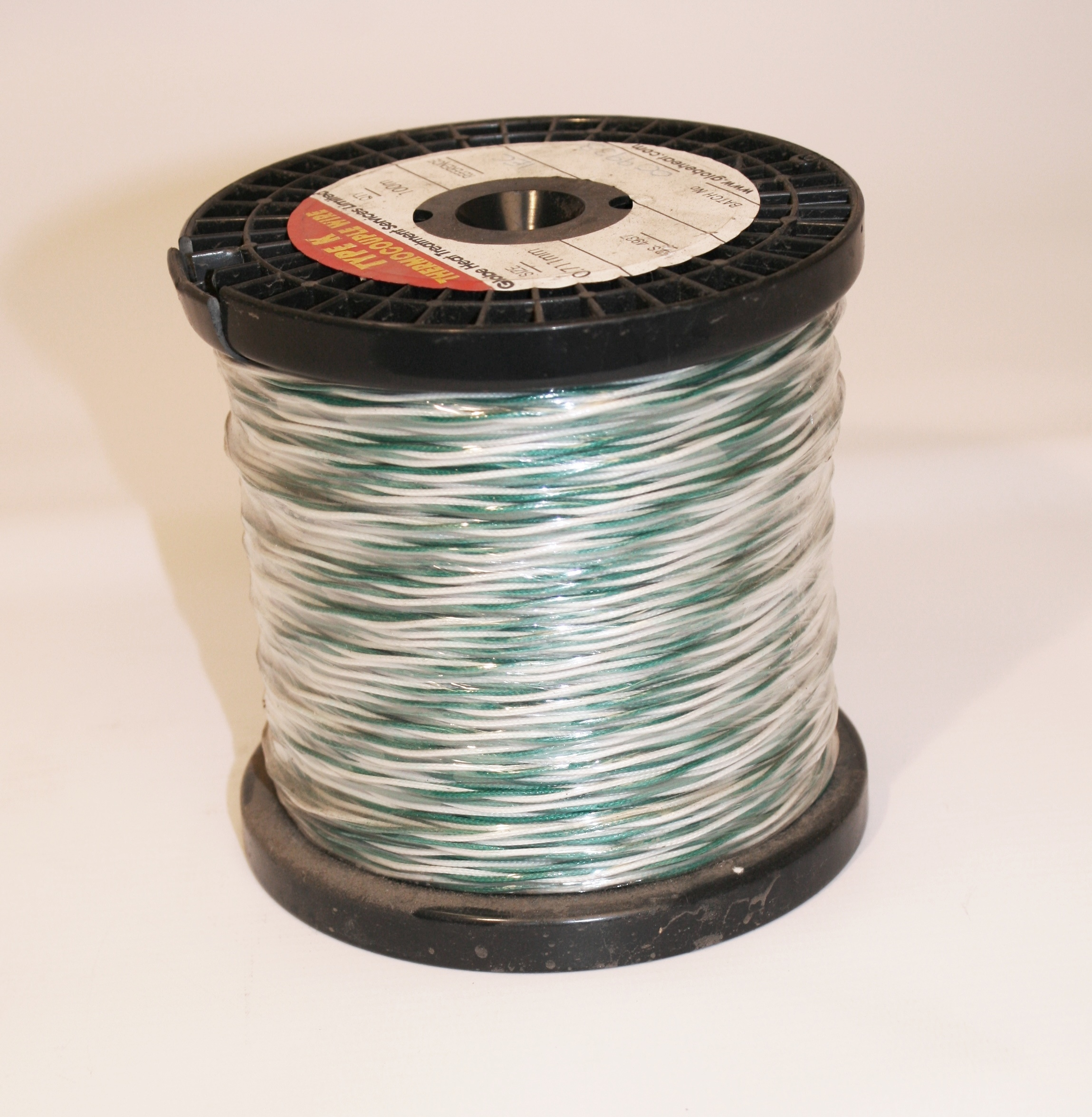 Thermocouple Wire Type K , 0.711mm Diameter, Double Insulated ...
